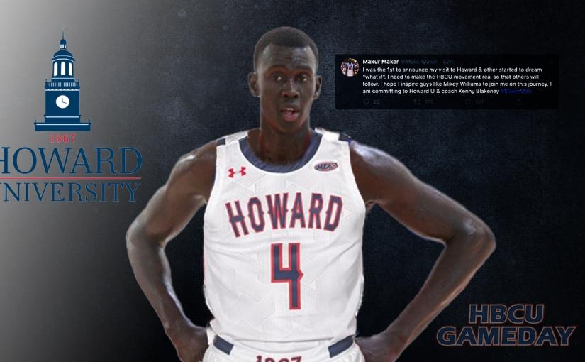 History in the Making?  Top Hoops Recruit to HBCU Howard U. inDC.